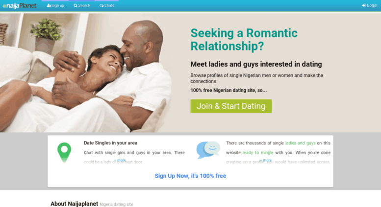 100 gratis dating i Nigeria