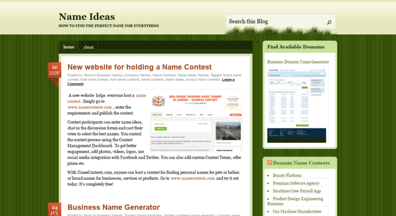 Access nameideas wordpress com  Name Ideas | How to find the