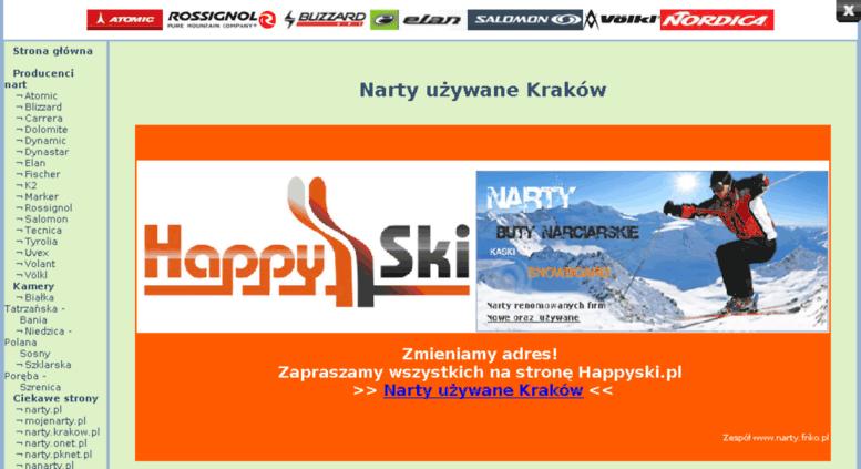 02aabe31e Access narty.friko.pl. Narty, narty używane. Sklep narciarski ...