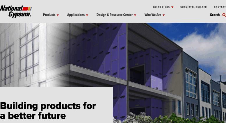 Access nationalgypsum com  National Gypsum Company