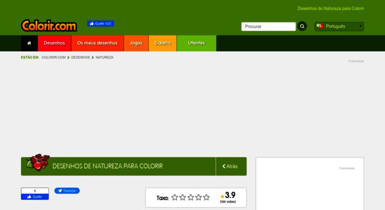 Access Naturezacolorircom Desenhos De Natureza Para