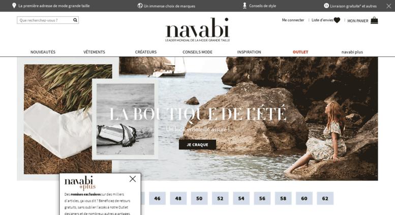 Access navabi.fr. La boutique de vêtements grandes tailles de ... 18289b81e3e