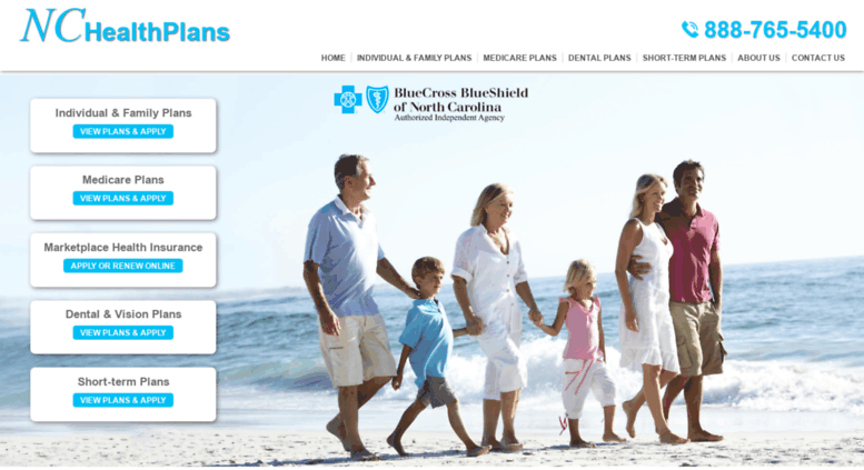 Nc Health Insurance >> Access Nchealthplans Com Blue Cross Blue Shield Of North
