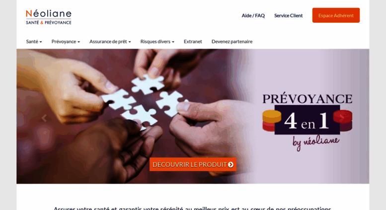 Access neoliane-sante.fr. Néoliane Santé   Prévoyance bedfd022297a