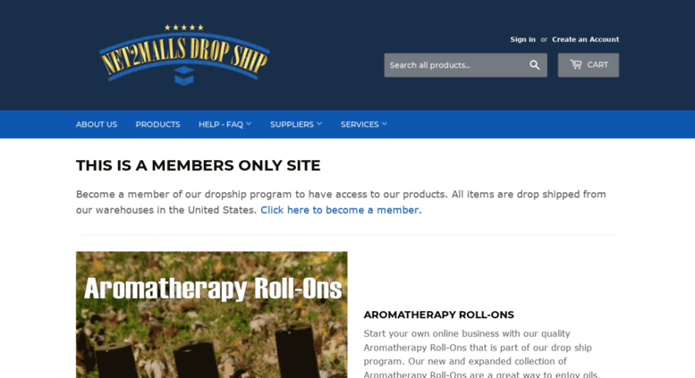 Access net2mallsdropship com  Drop Ship Program Suppliers Fitness