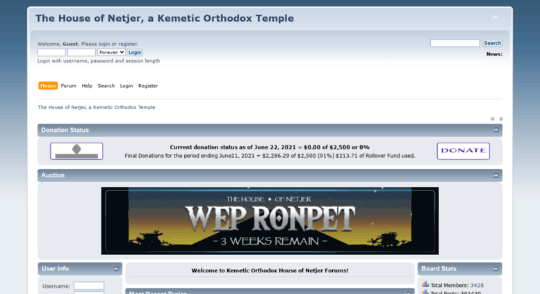 Access netjer org  The House of Netjer, a Kemetic Orthodox