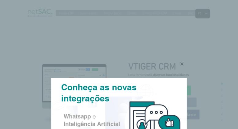 Access Netsac Com Br Netsac Vtiger Crm