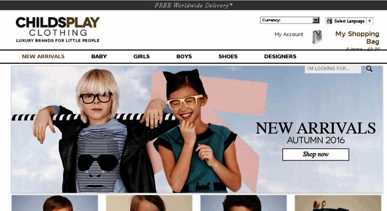 6c02281086bf Access news.childsplayclothing.co.uk. Luxury Kids   Baby Designer ...