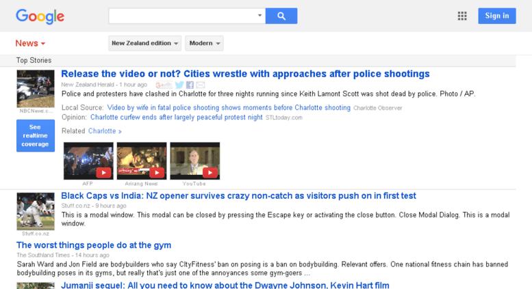 Access news google co nz  Google News