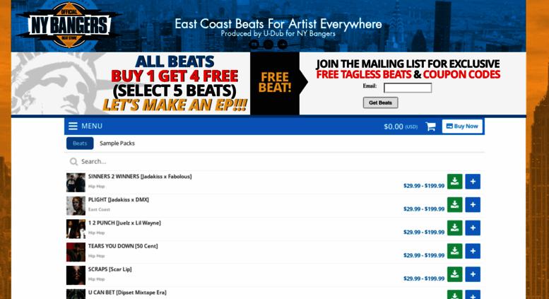 Access newyorkbangers com  East Coast Beats - Rap and Hip