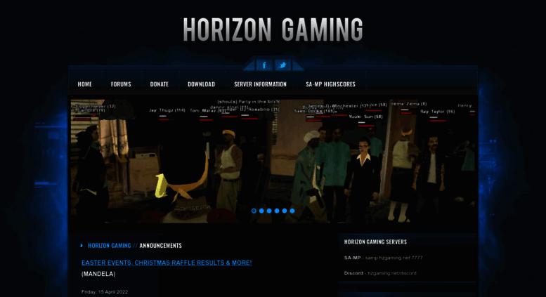 Access ng-gaming net  Horizon Gaming