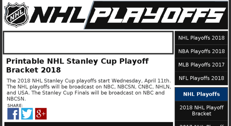 picture about Printable Nhl Playoff Bracket titled Achieve .