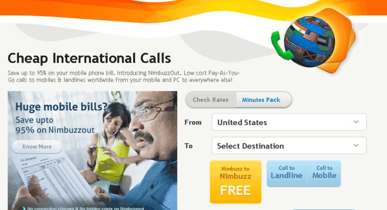Access nimbuzzout com  Free and Cheap International Calls, Cheap