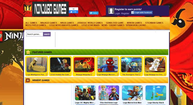 Access ninjagogames org  Ninjago Games Online | Free lego ninjago