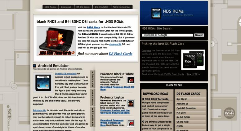 Access nintendo-ds-roms com  NDS ROMs • Nintendo DS Roms
