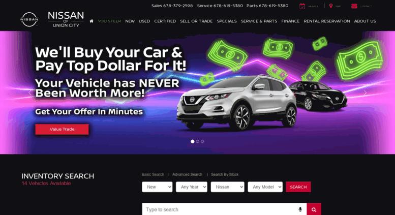 Union City Nissan >> Access Nissanofunioncity Com Nissan Dealer In Union City