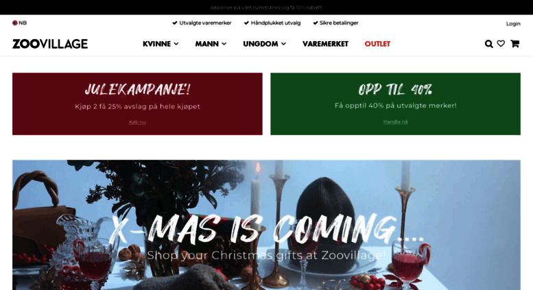 e9bf52d1 Access no.zoovillage.com. Zoovillage - merkeklær og mote online fra ...