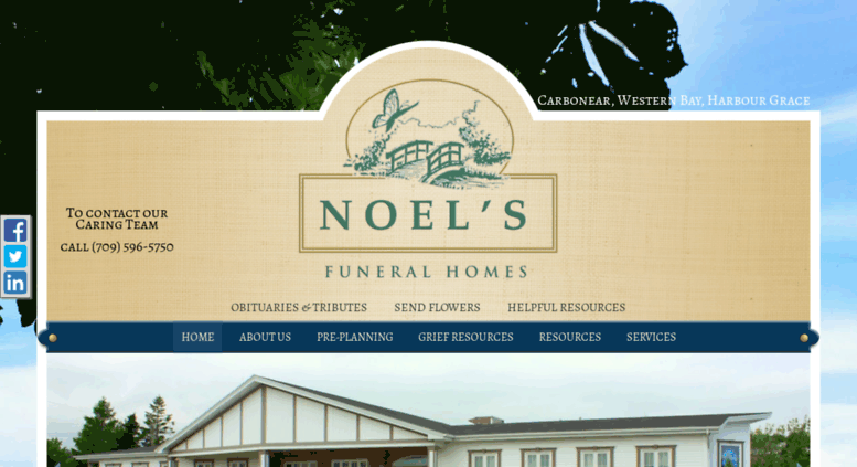 Access Noelsfuneralhome Com Home Welcome To Noel S