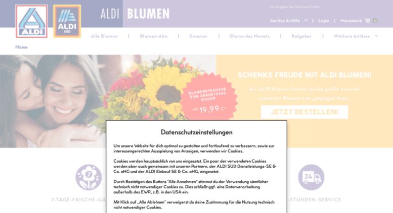 Access Nord Aldi Blumen De Blumen Online Bestellen Aldi Blumen