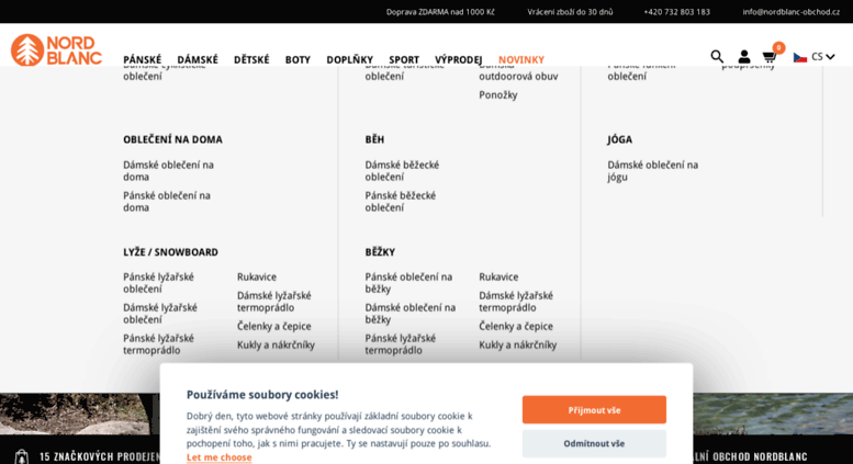 Access nordblanc.cz. NORDBLANC - oficiální e-shop s outdoorovým a ... 5676791a15
