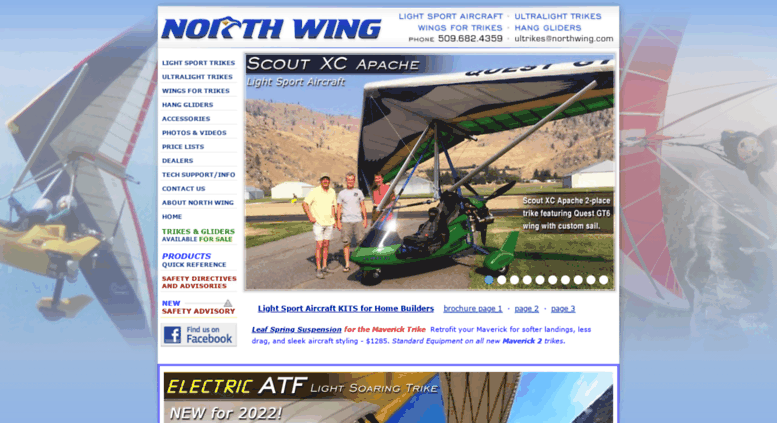 Access northwing com  North Wing · Quality Light Sport