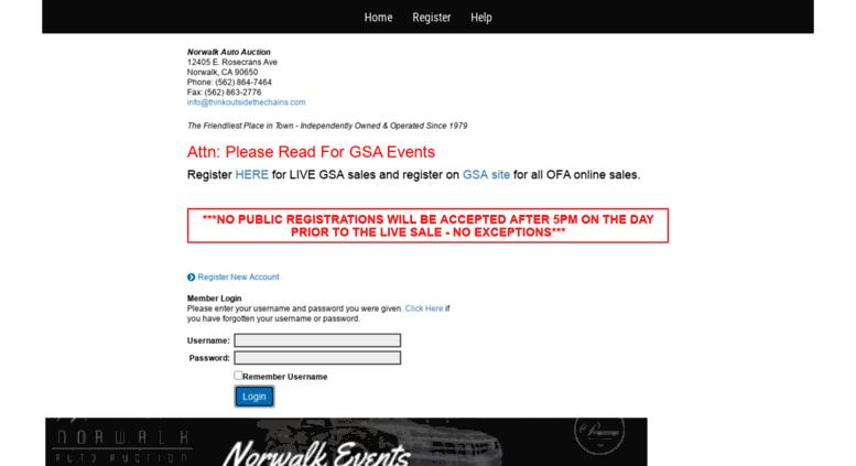 Norwalk Auto Auction >> Access Norwalk Autoremarketers Com Welcome To Norwalk Auto Auction