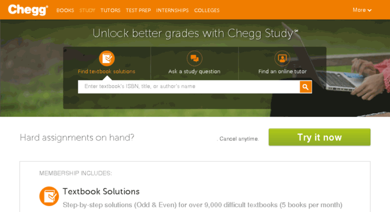 Access notehall com  Chegg Study | Guided Solutions and