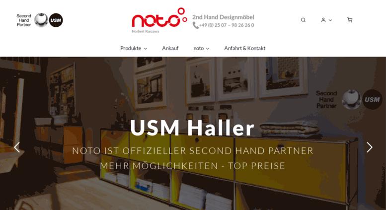 Access Noto Online De Noto Gebrauchte Designermobel Usm Haller