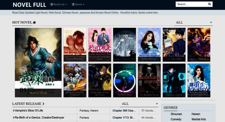 Access novelfull com  Read Books Online Free - Free Novels Online