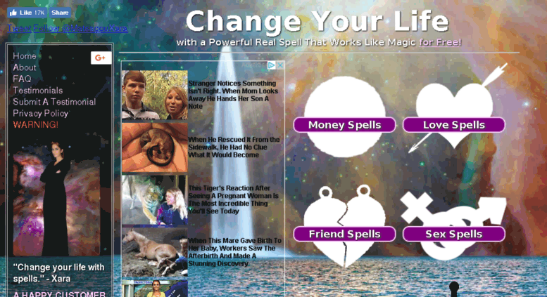 Access ns1 changeyourlifespells com  Change Your Life with a