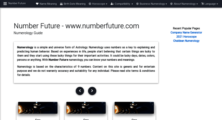 Access numberfuture com  Numerology Meanings, Compatibility and