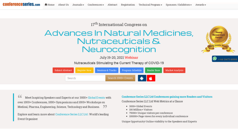 Access nutraceuticals pharmaceuticalconferences com