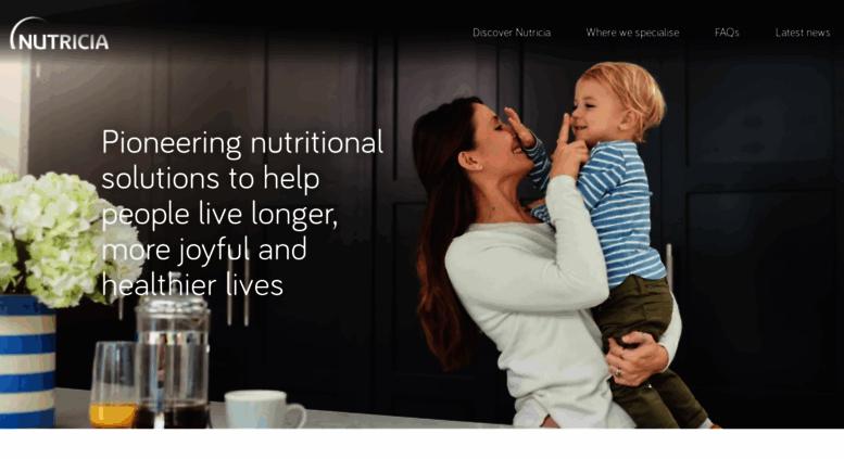 Access nutricia com au  Nutricia Homepage