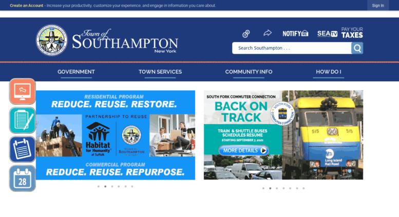 d25bdd98cf6 Access ny-southampton.civicplus.com. Southampton