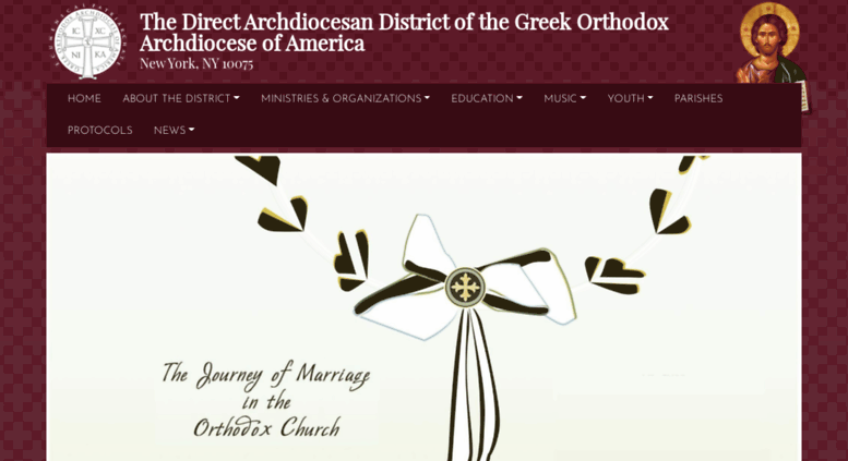 Access ny goarch org  Home | The Direct Archdiocesan