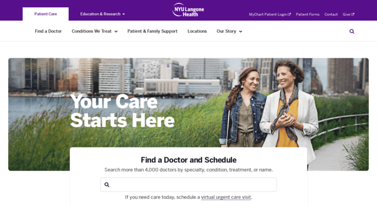 Access nyumc org  Patient Care at NYU Langone Health