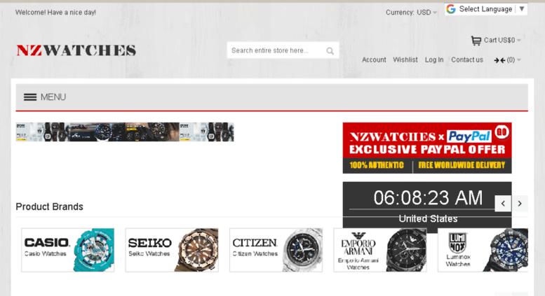 Access nzwatches.co.nz. Buy Watches Online NZ Watches  0b304baf4