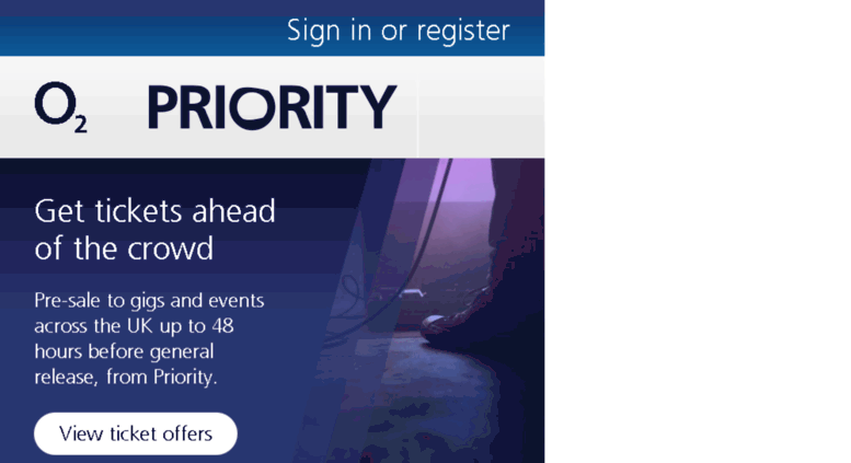 Access o2priority co uk  Our pick of the best offers and