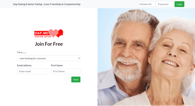 OAP dating sites