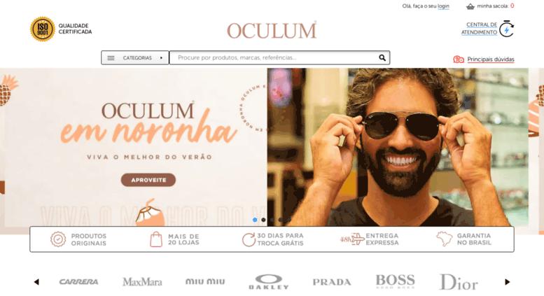 fcccc00f8 Access oculum.com.br. Oculum | Óculos de sol e de grau em Recife