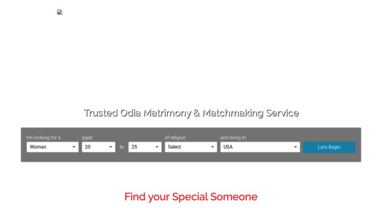 odia matchmaking