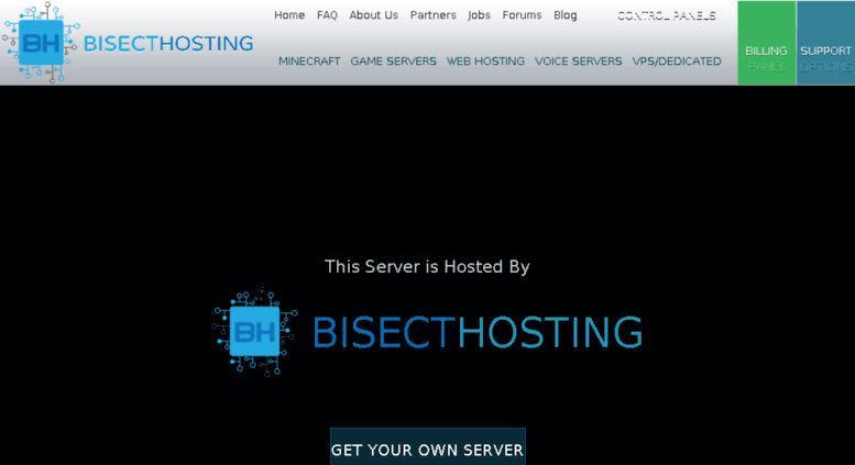 Access offers-gift com  Hosted By - BisectHosting - Quality