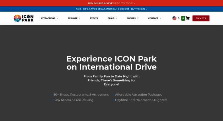Access officialorlandoeye com  ICON Park™, A Fun Entertainment