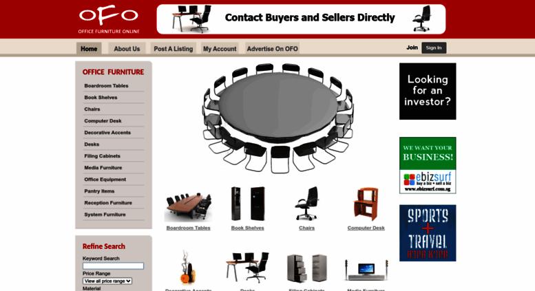 Access Ofo Com Sg Singapore Used Office Furniture Furniture Sale