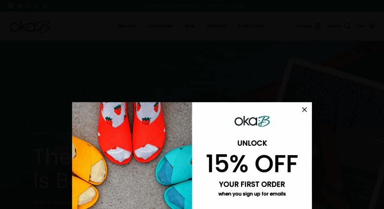 e04fea0f0 Access oka-b.com. Oka-B Shoes. Comfortable Ballet Flats