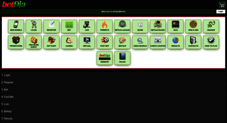 Access old-mobile bet9ja com  Bet9ja Nigeria Sport Betting