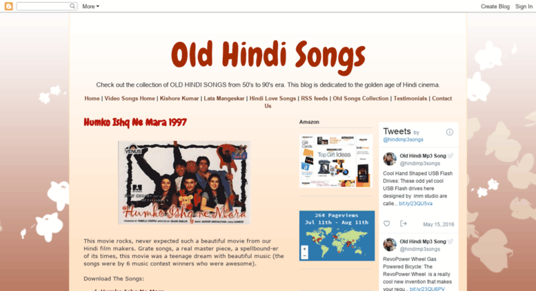 Access oldsongs-uttam blogspot com  Old Hindi Songs