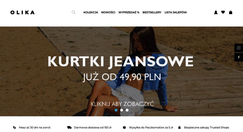 24e6f4a1d4 Access olika.com.pl. Tania odzież