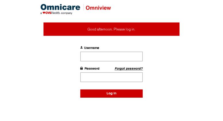 omnicare omniview log in