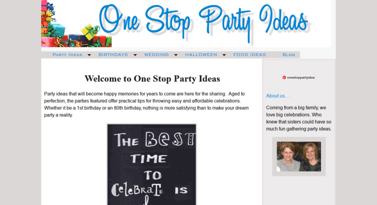 One Stop Party Ideas Screenshot